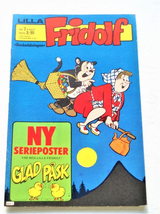 Lilla Fridolf nr 7 1977 mycket bra skick.Ny oläst