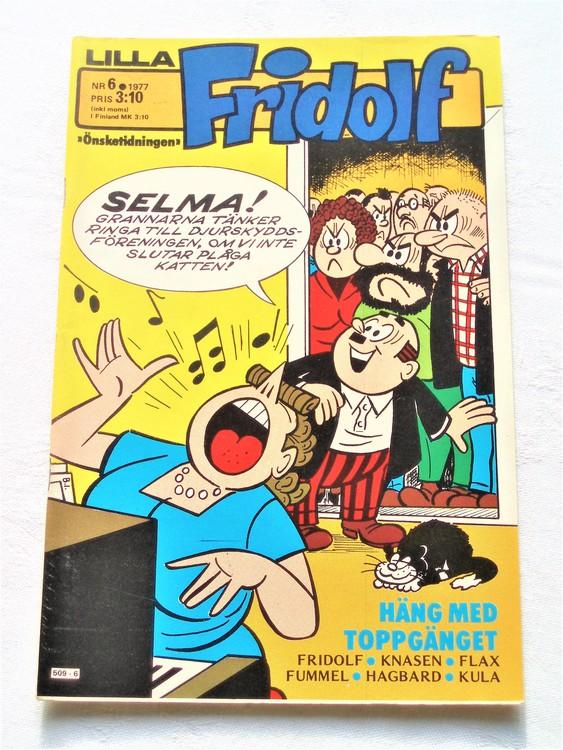 Lilla Fridolf nr 6 1977 mycket bra skick.Ny oläst