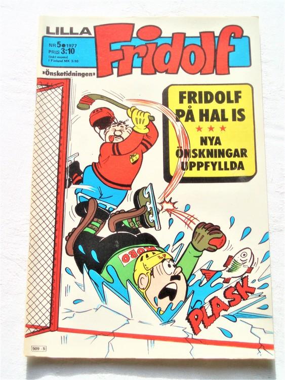 Lilla Fridolf nr 5 1977 mycket bra skick.Ny oläst