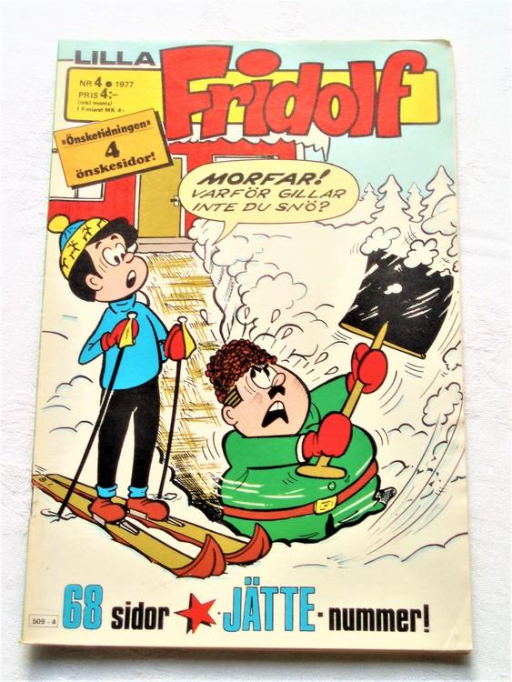 Lilla Fridolf nr 4 1977 mycket bra skick.Ny oläst