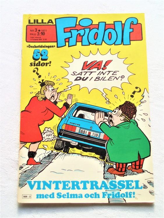 Lilla Fridolf nr 3 1977 mycket bra skick.Ny oläst