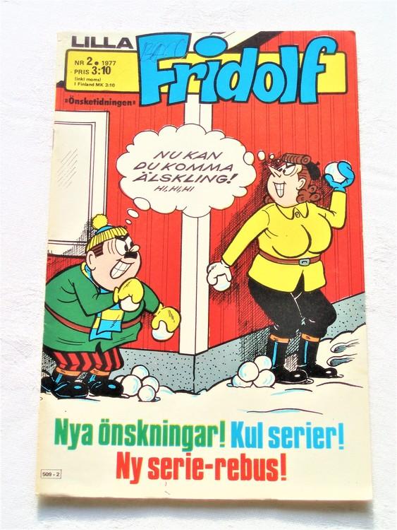 Lilla Fridolf nr 2 1977 mycket bra skick.Ny oläst