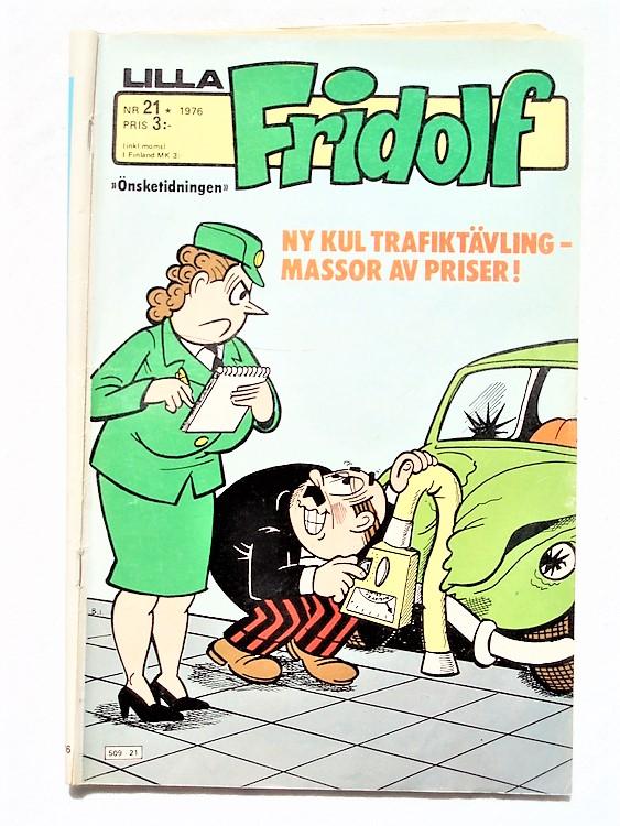 Lilla Fridolf nr 21 1976 normalslitet, normalskick