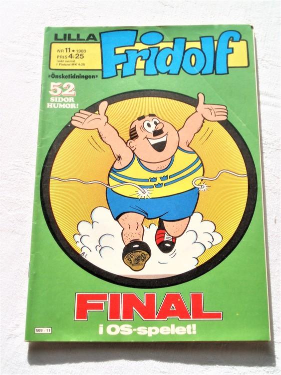 Lilla Fridolf nr 11 1980 bättre skick