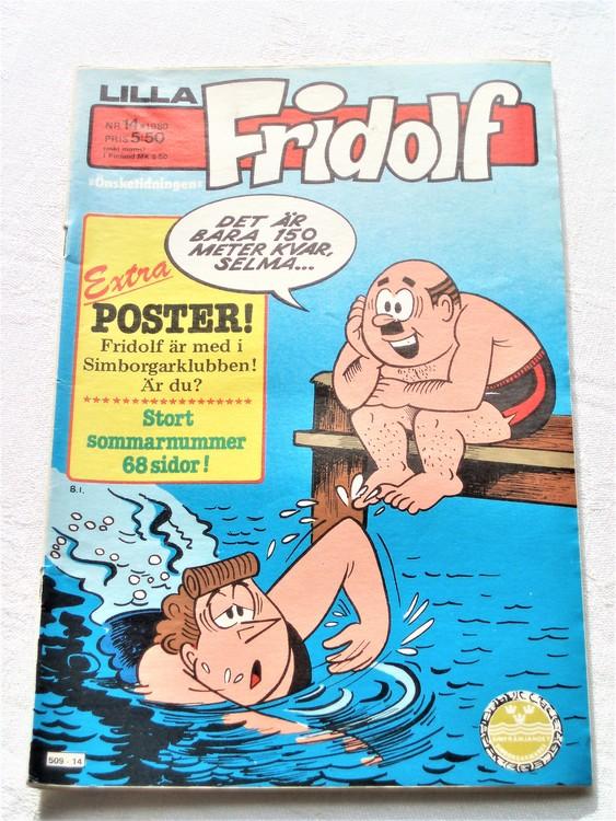 Lilla Fridolf nr 14 1980 bättre skick