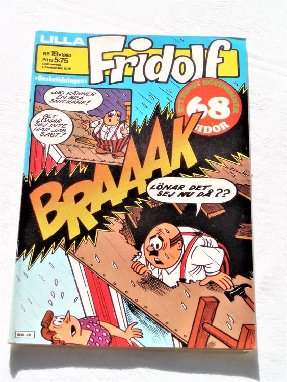 Lilla Fridolf nr 19 1980 bättre skick