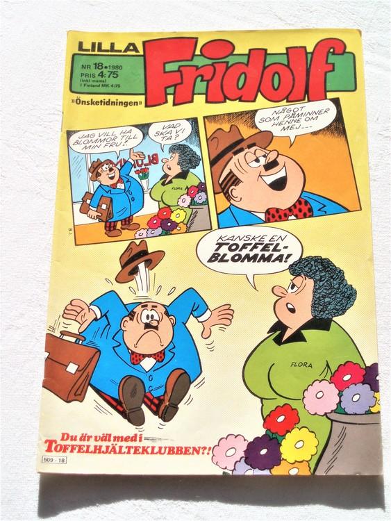 Lilla Fridolf nr 18 1980 bättre skick