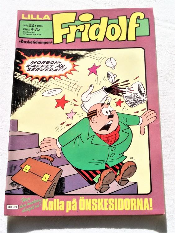 Lilla Fridolf nr 22 1980 bättre skick