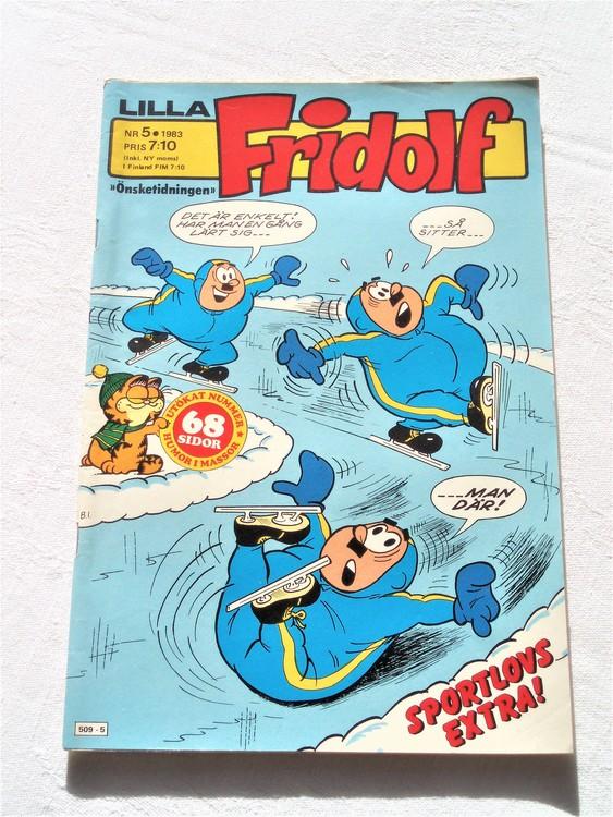Lilla Fridolf nr 5 1983 bättre skick