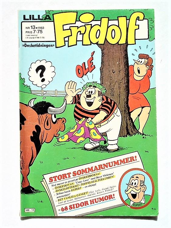 Lilla Fridolf nr 13 1983 normalslitet, normalskick