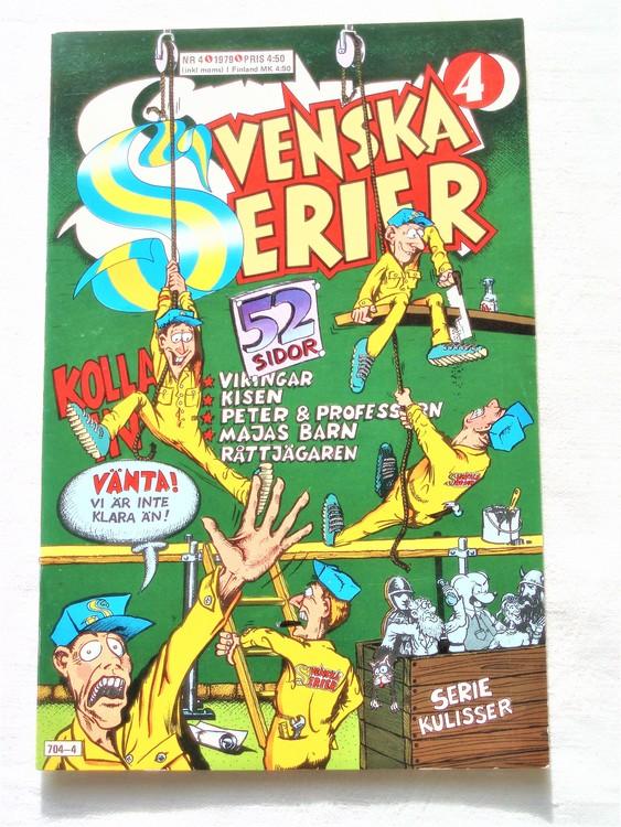 Svenska Serier nr 4 1979 mycket bra skick ny oläst