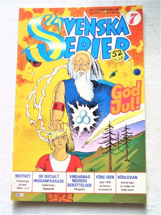 Svenska Serier nr 7 1979 mycket bra skick ny oläst