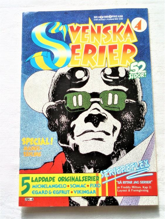 Svenska Serier nr 4 1980 mycket bra skick ny oläst