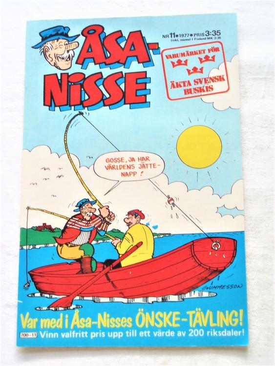 Åsa-Nisse nr 11 1977 mycket bra skick