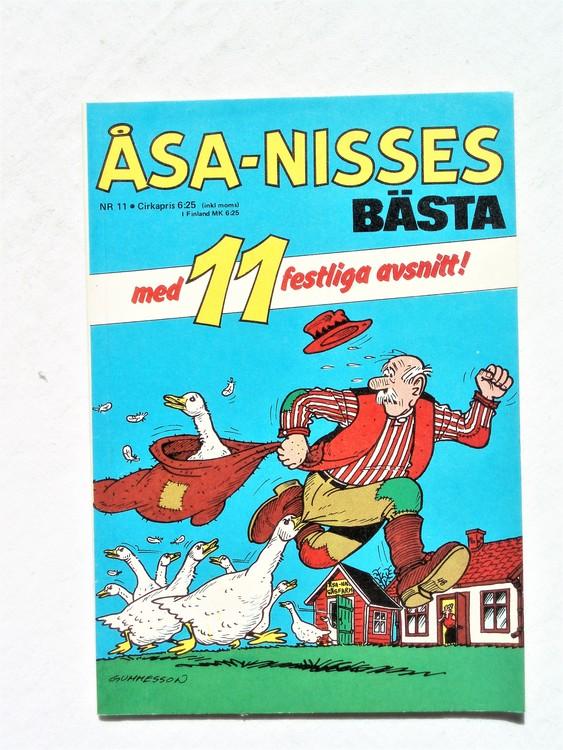 Åsa-Nisses Bästa nr 11 normalslitet,normalskick