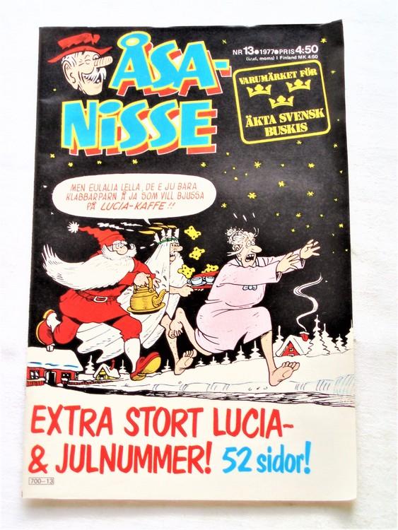 Åsa-Nisse nr 13 1977 mycket bra skick