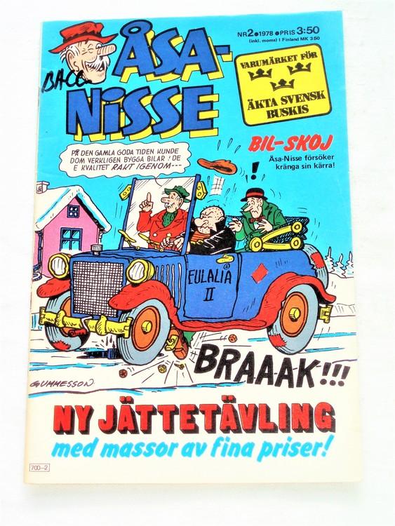 Åsa-Nisse nr 2 1978 bra skick