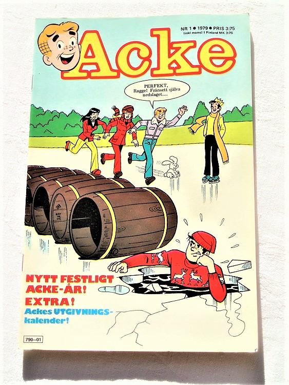 Acke nr 1 1979 mycket bra skick ny skick