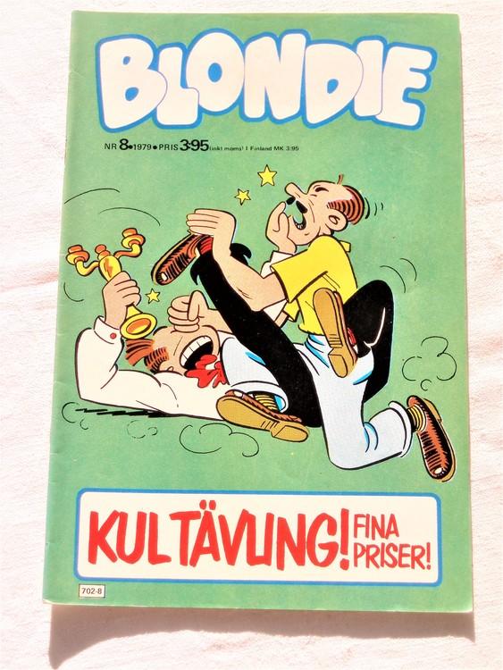 Blondie nr 8 1979 mycket bra skick