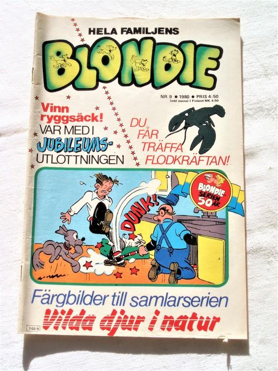 Blondie nr 9 1980 bättre skick