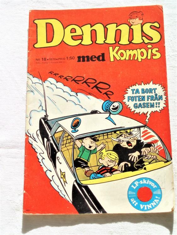 Dennis nr 18 1970 bra skick