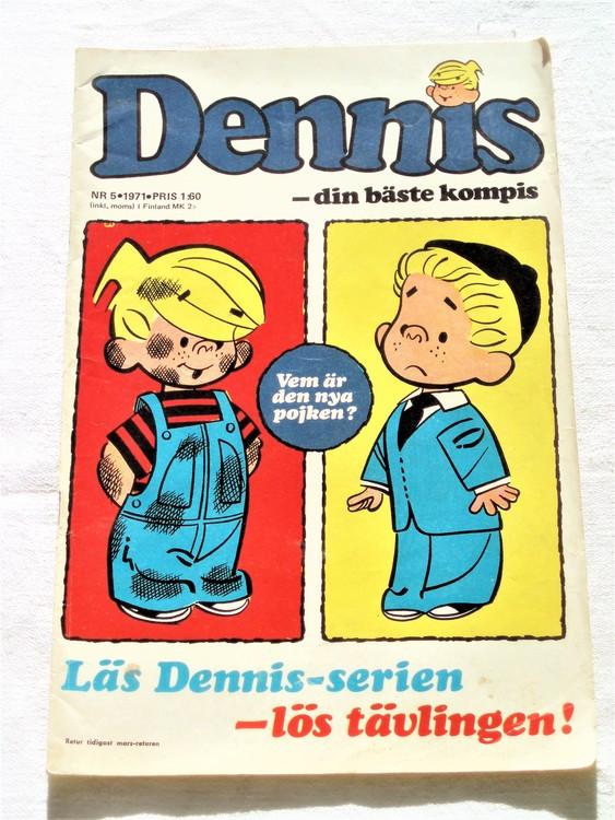 Dennis nr 5 1971 bra skick