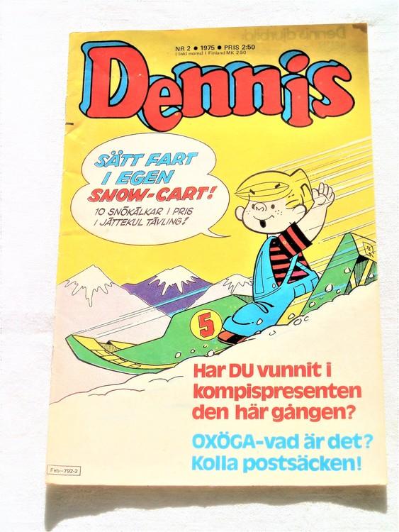 Dennis nr 2 1975 bra skick