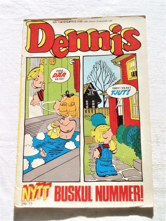 Dennis nr 11 1976 bra skick