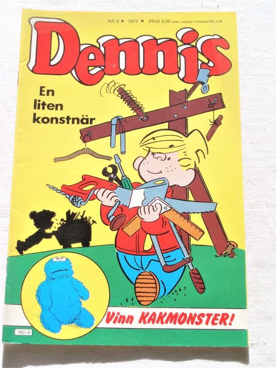 Dennis nr 9 1977 mycket bra skick