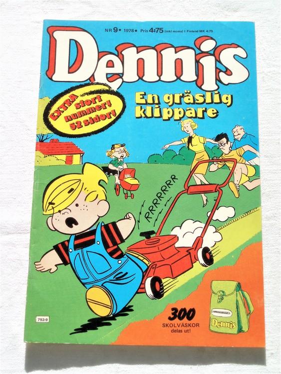 Dennis nr 9 1978 mycket bra skick
