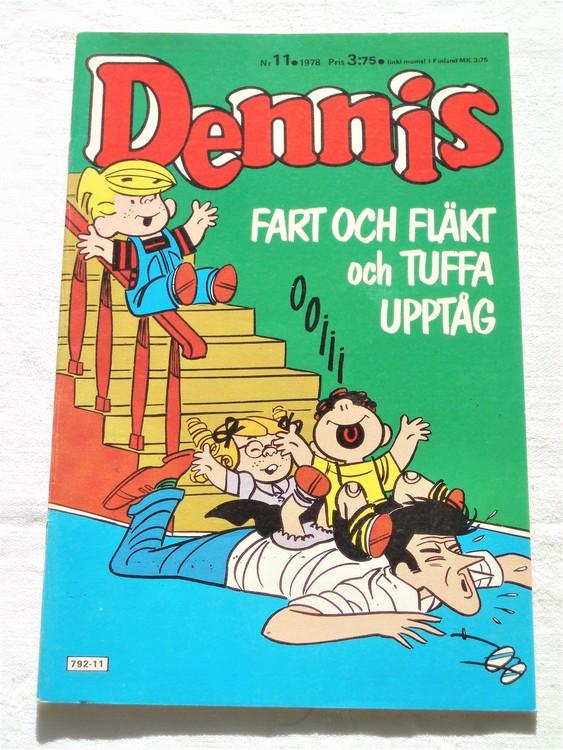Dennis nr 11 1978 mycket bra skick