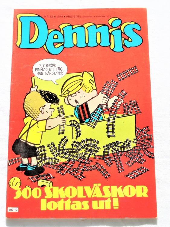 Dennis nr 12 1978 mycket bra skick