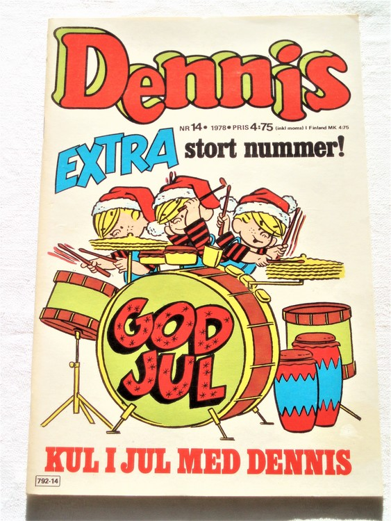 Dennis nr 14 1978 mycket bra skick