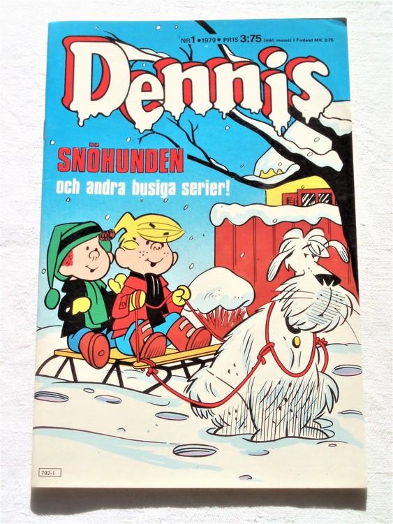 Dennis nr 1 1979 mycket bra skick