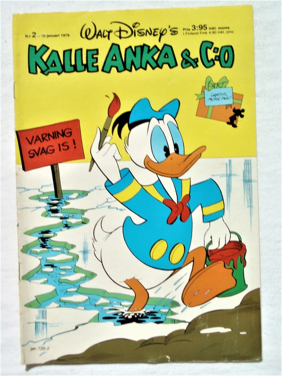 Kalle Anka&Co nr2 1979 mycket bra skick,adresstryck baksida,övrigt fin