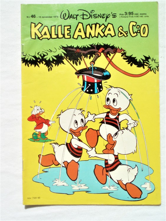Kalle Anka&Co nr46 1978 mycket bra skick,adresstryck baksida.