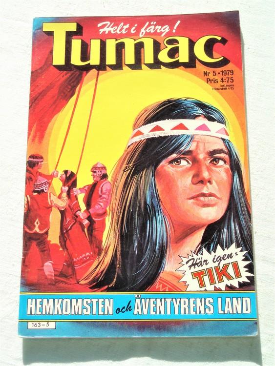 Tumac nr 5 1979 mycket bra skick ny oläst