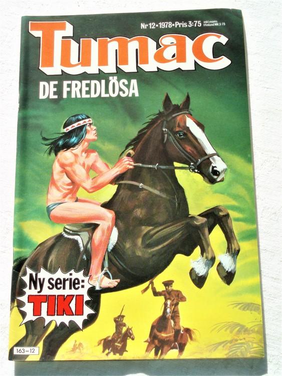 Tumac nr 12 1978 mycket bra skick ny oläst