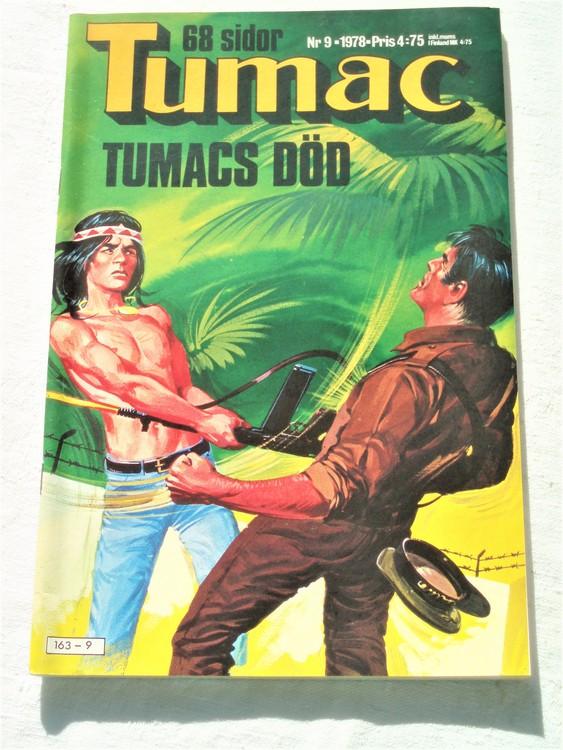 Tumac nr 9 1978 86 sidor mycket bra skick ny oläst