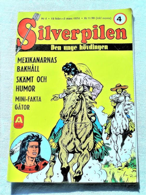 Silverpilen nr 4 1974 Allers förlag bra skick