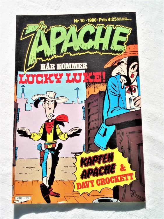 Apache nr 10 1980 mycket bra skick ny oläst