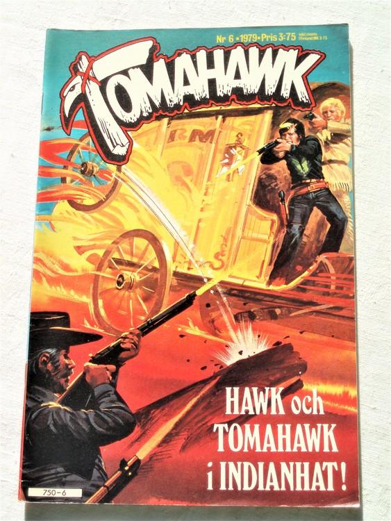 Tomahawk nr 6 1979 semic förlag mycket bra skick ny oläst