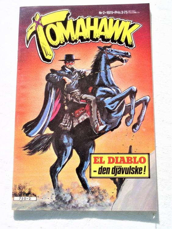 Tomahawk nr 2 1979 semic förlag mycket bra skick ny oläst