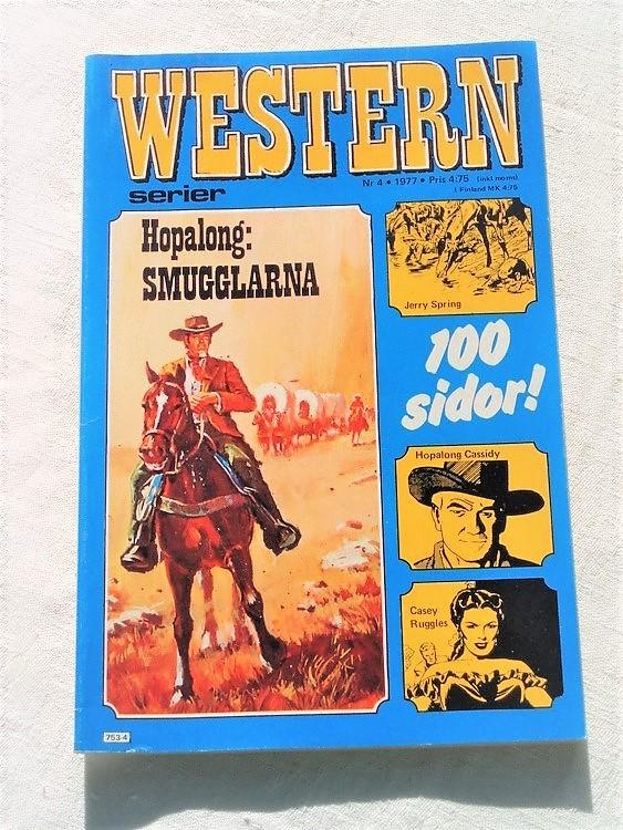 Western nr 4 1977, 100 sidor,mycket bra skick,ny oläst