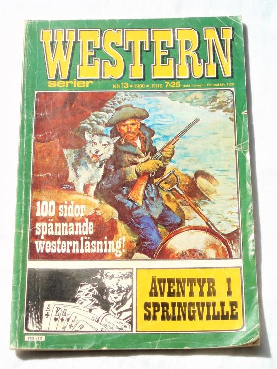 Western nr 13 1980 normalskick,normalslitet,100 sidor