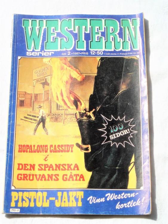 Western nr 2 1987 normalskick, normalslitet, bra skick.