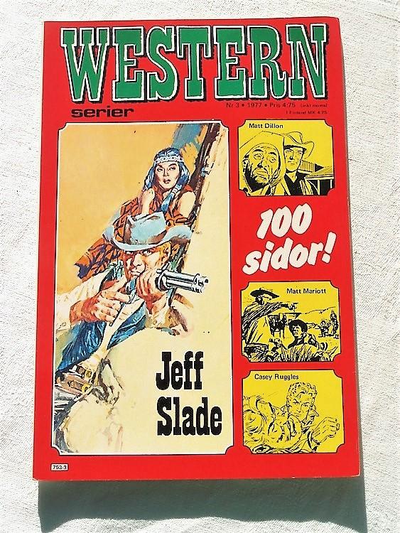 Western nr 3 1977, 100 sidor,mycket bra skick,ny oläst