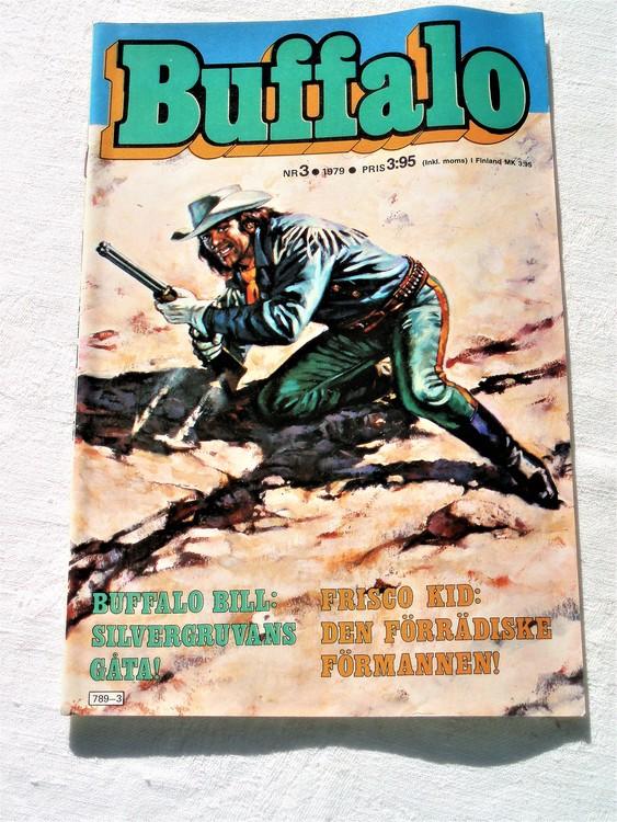 Buffalo nr 3 1979 mycket bra skick