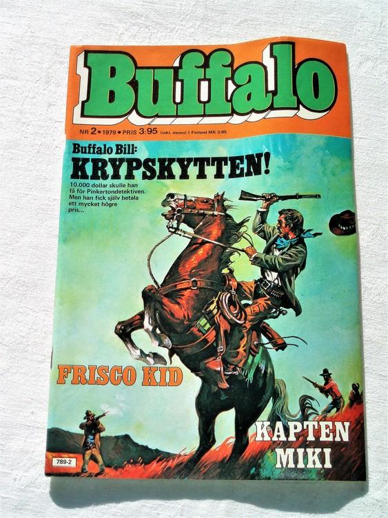 Buffalo nr 2 1979 mycket bra skick