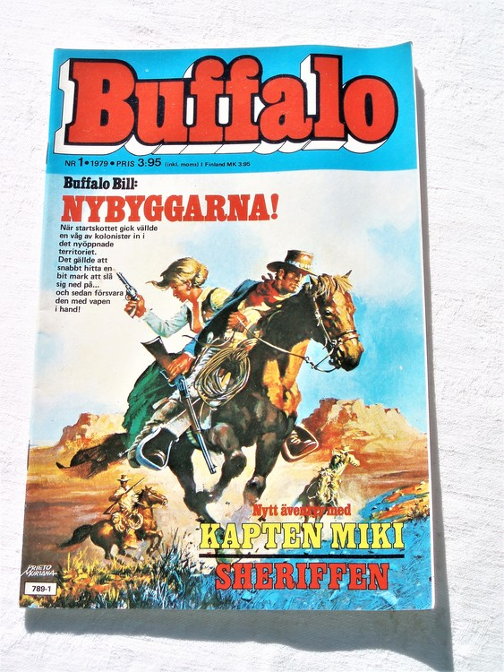 Buffalo nr 1 1979 mycket bra skick